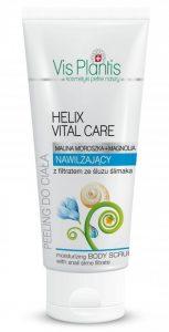 Helix Vital Care, Peeling nawilżający do ciała z filtratem ze śluzu ślimaka