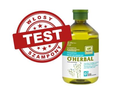 O'Herbal Szampon do włosów suchych i zniszczonych z ekstraktem z lnu
