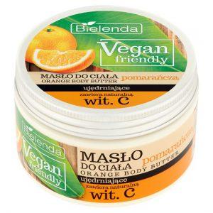 Vegan Friendly, masło do ciała Pomarańcza