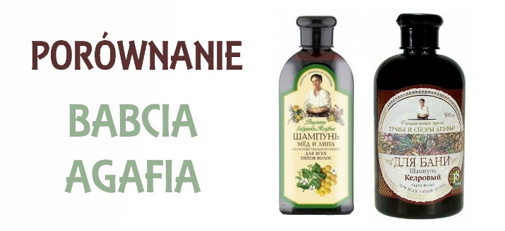 "Szampon ""Babcia Agafia"": Eurobio Lab VS Pervoye Reshenie"