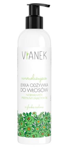 Vianek - Normalizująca lekka odżywka do włosów z glinką zieloną