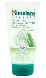 Aloe Vera Nawilżający żel do mycia twarzy
