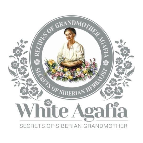 White-Agafia-logo