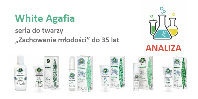 """White Agafia seria """"Zachowanie młodości"""" - do 35 lat"""