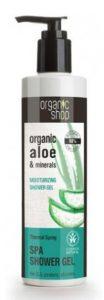 Żel pod prysznic Żródła Termalne, Organic aloe & minerals