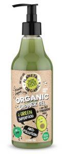 Żel pod prysznic Organic 7 green superfood